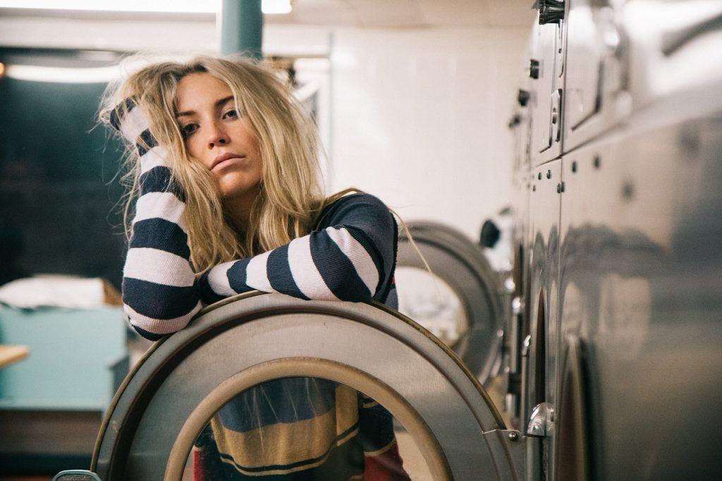 Wasje aan het doen