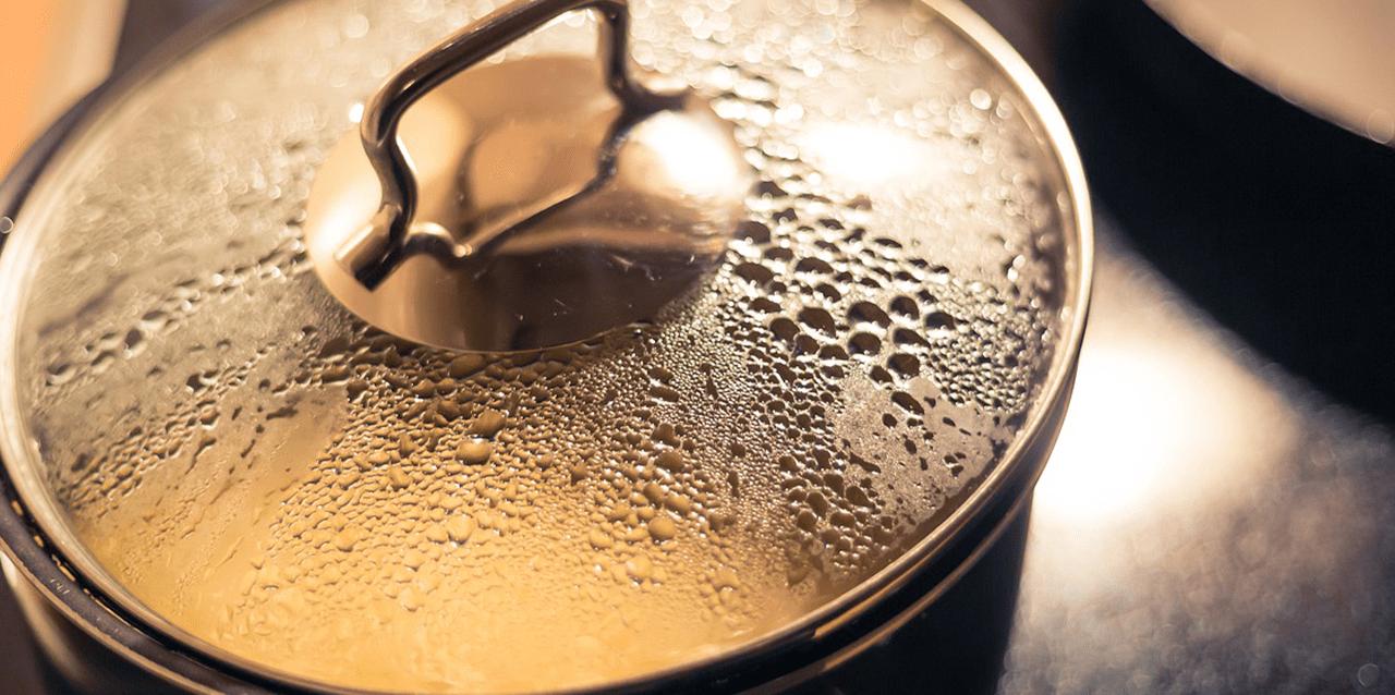 boerenkool opwarmen in de pan