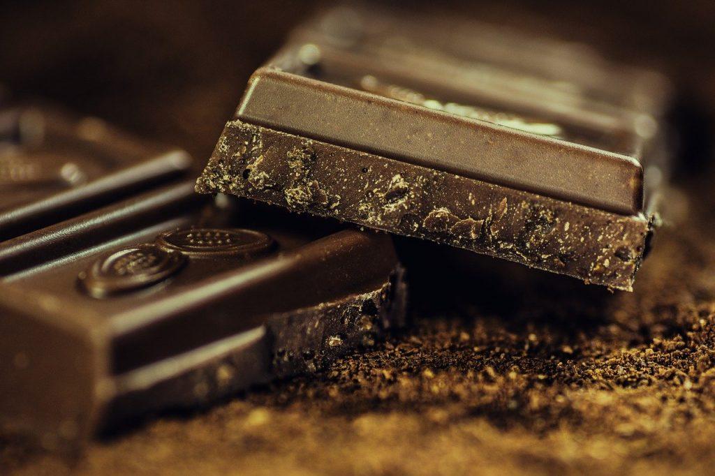 chocolade vlekken