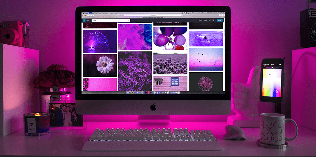 computerscherm schoonmaken