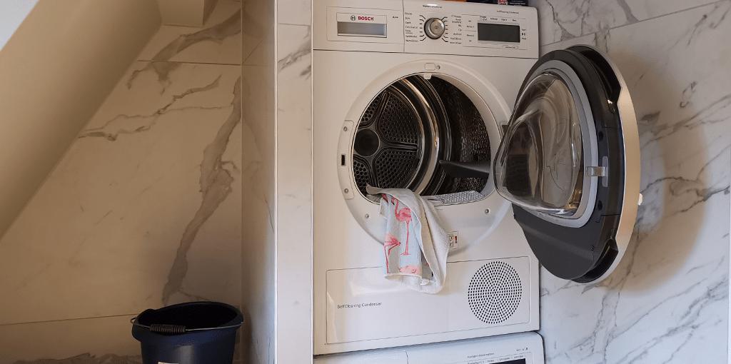 droger schoonmaken