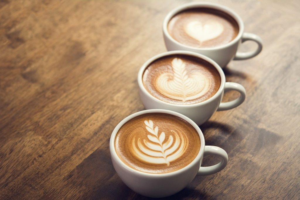 koffie aanslag