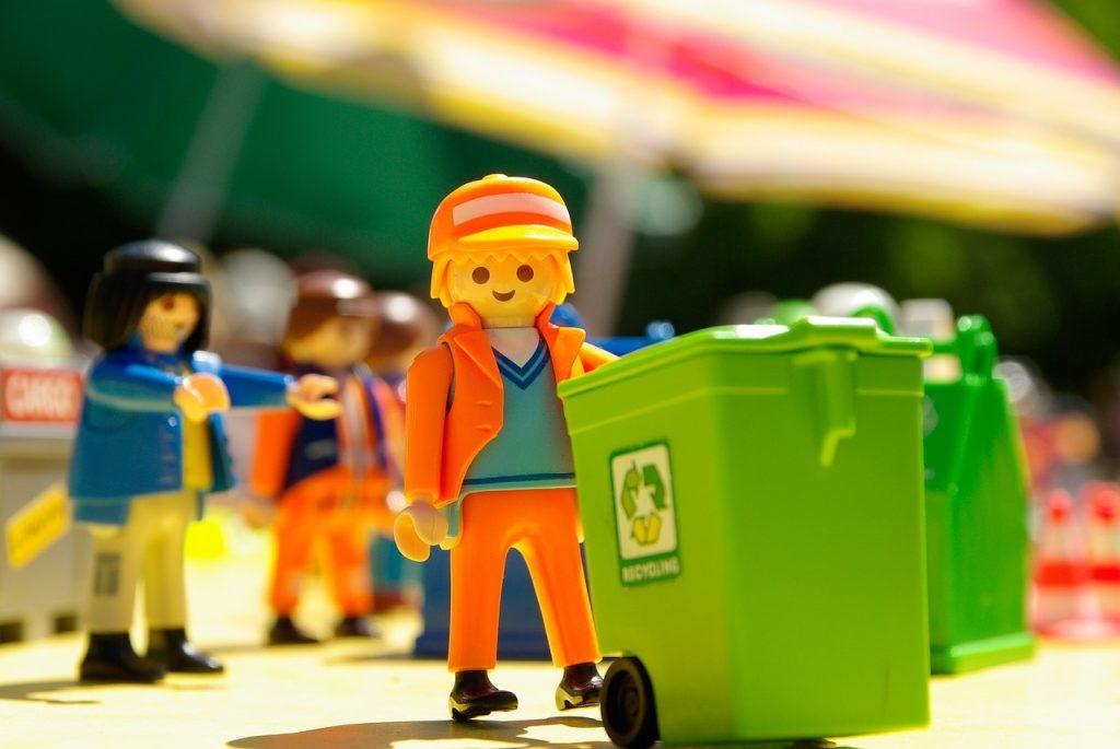 Playmobil schoonmaker