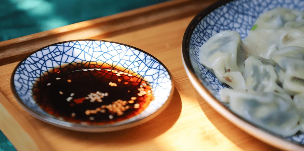 soya saus vlek verwijderen