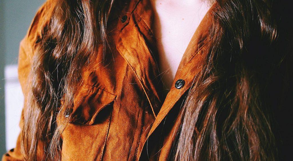 suède blouse