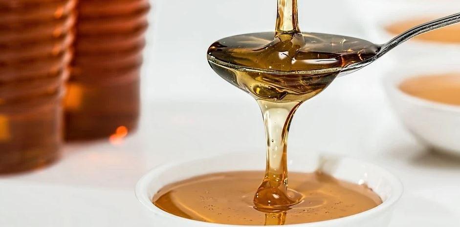 honingvlek verwijderen