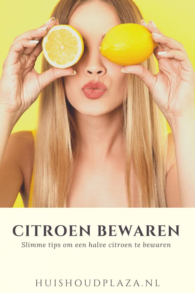 Halve citroen bewaren