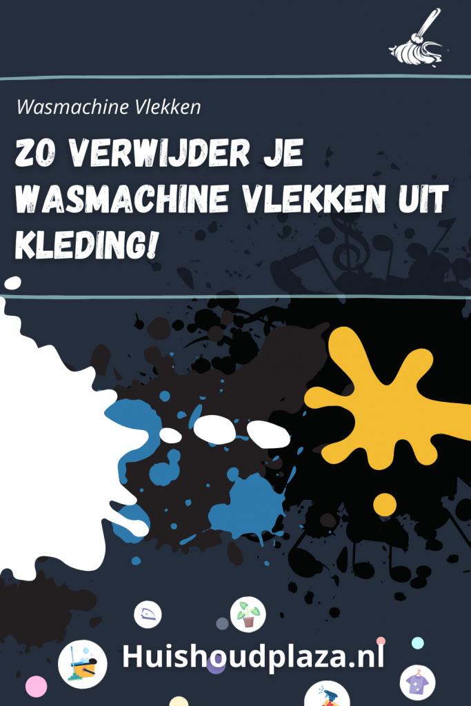 Wasmachine Vlekken