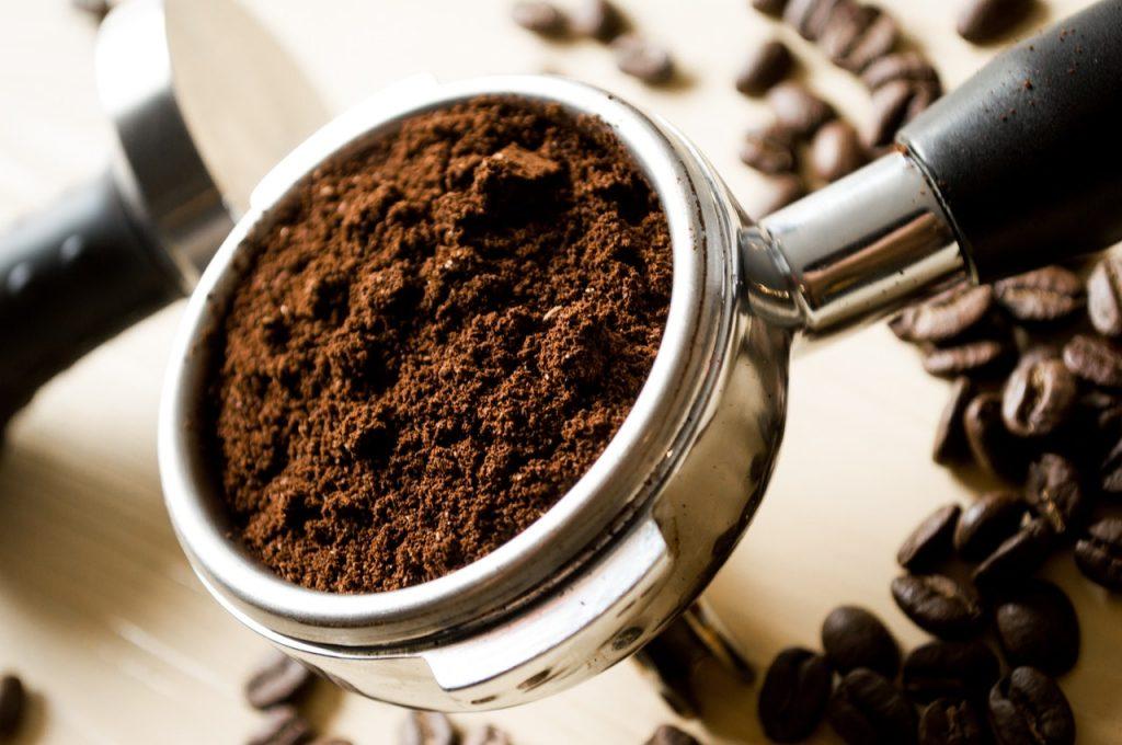 koffie wat uiteindelijk eindigt in koffieprut