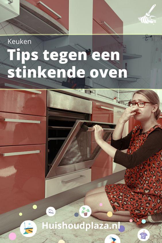 oven stinkt