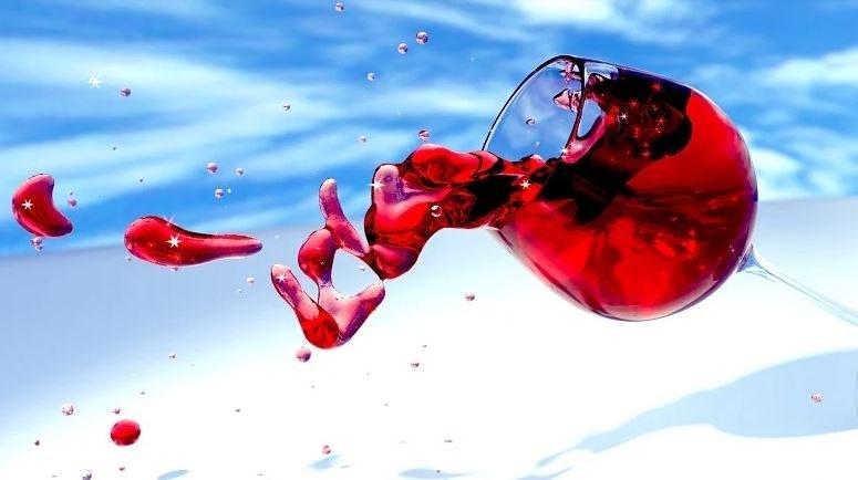 rode wijn vlekken - hoe verwijder je ze